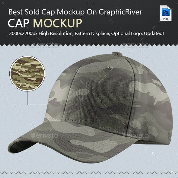 Professional Cap Mock-up Ver2.0