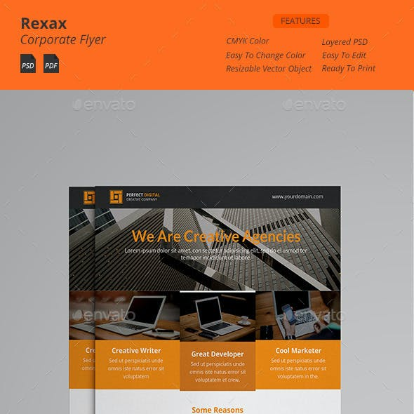 Rexax - Clean Corporate Flyers