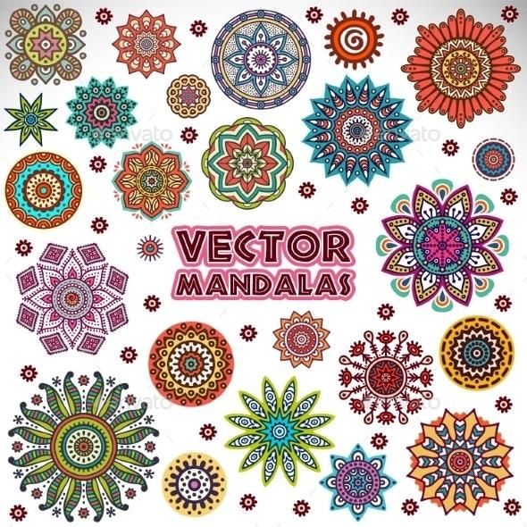 Mandala - Backgrounds Decorative
