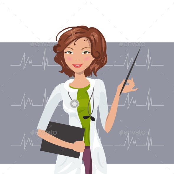Woman Cardiologist