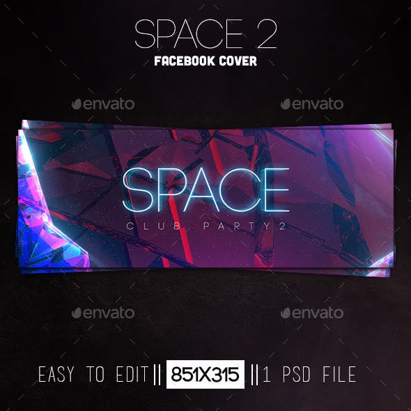 Space 2 Facebook Cover