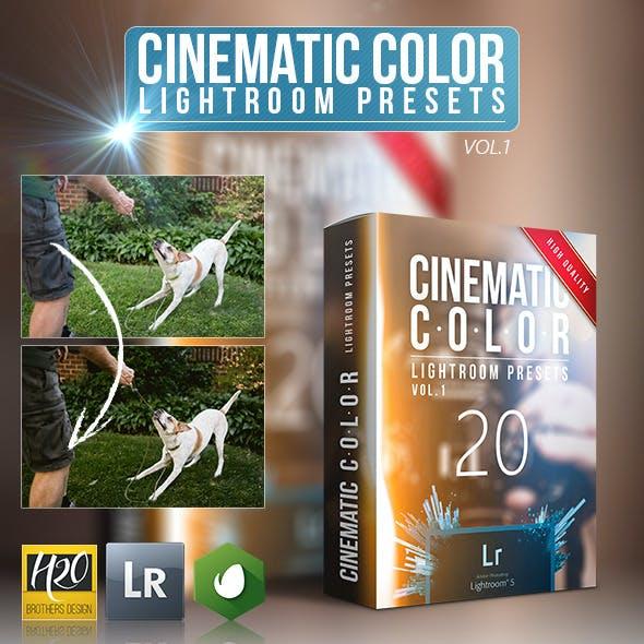 20 Cinematic Color Lightroom Presets
