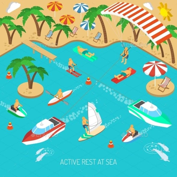 Active Rest at Sea Concept