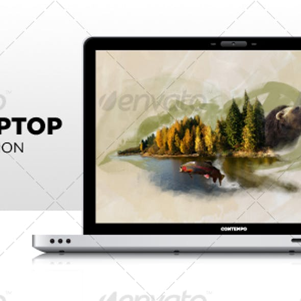 Sexy Vector Laptop