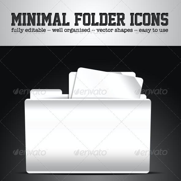 Minimal Folder Icons