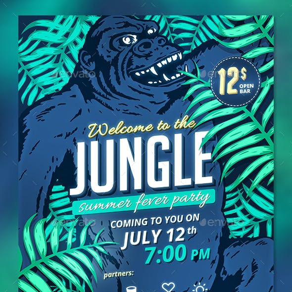 Jungle Fever Summer Party
