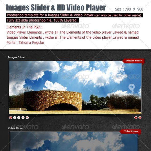 Images Slideshow And Video Player