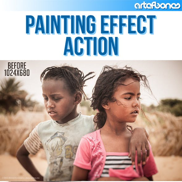 Painting Effect Action