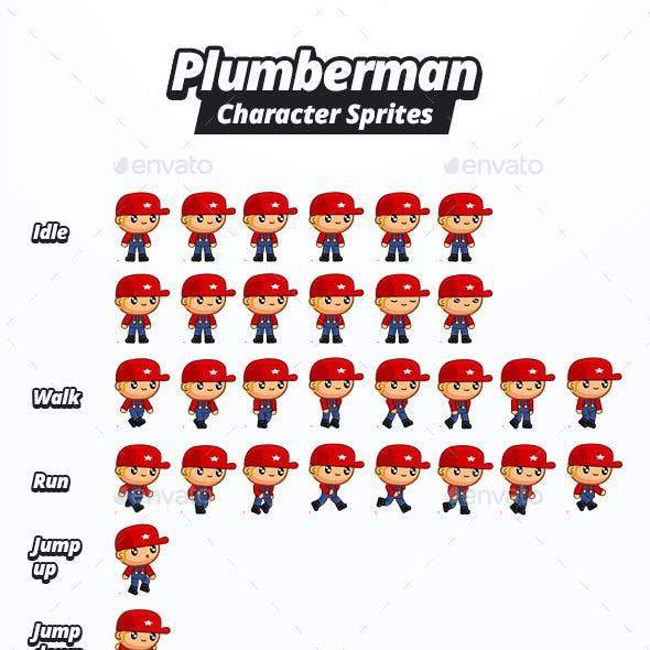 Character Sprites - Plumberman