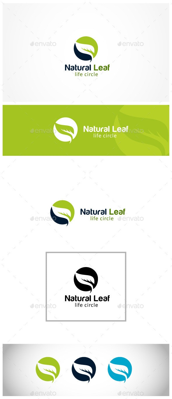 Leaf Insurance - Nature Logo Templates