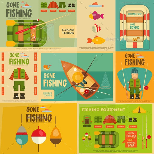 Fishing - Sports/Activity Conceptual
