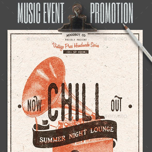 Chill Out - Lounge Flyer/Poster