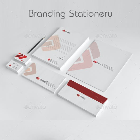 Branding Stationery Templates