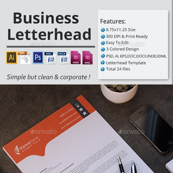 Business Letterhead.