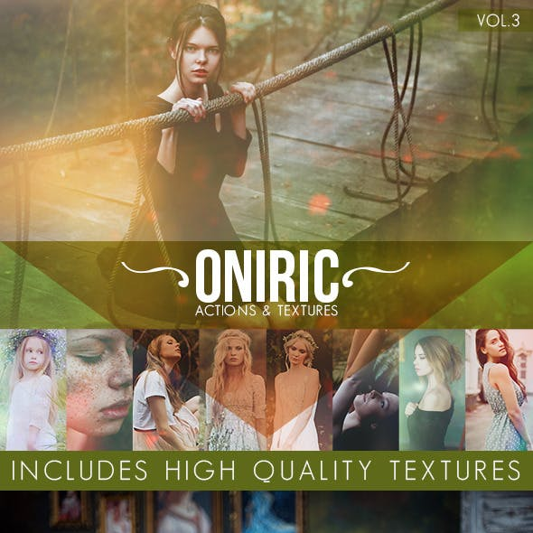 Oniric Actions and Textures Vol.3