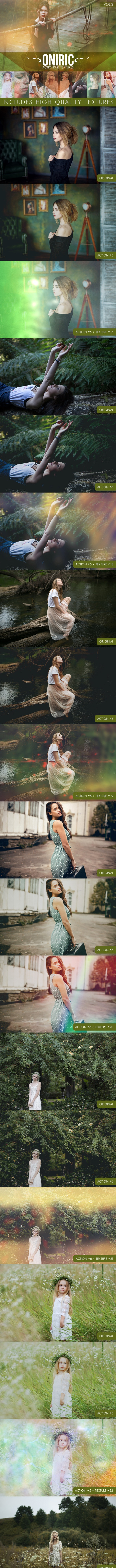 Oniric Actions and Textures Vol.3 - Photo Effects Actions