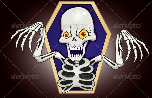 Fear Skeleton  - Monsters Characters