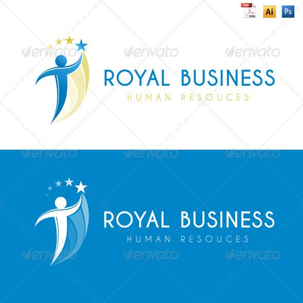 Royal Business - Human Resources Logo
