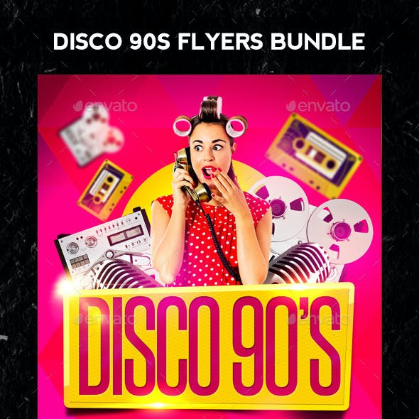 Disco Party 90s Bundle