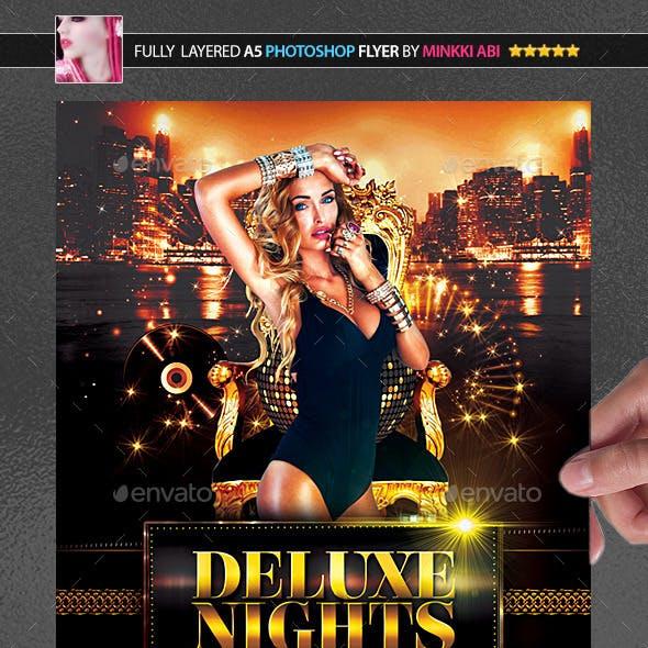 Deluxe Nights Poster/Flyer