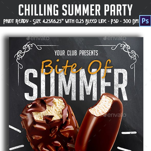 Chilling Summer Party Flyer