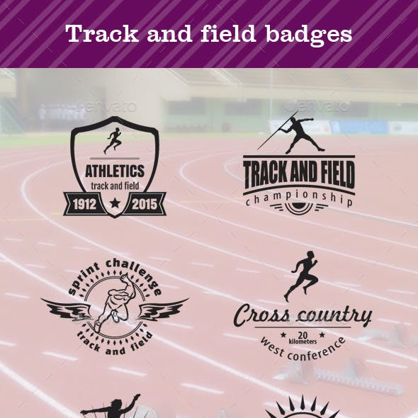 Track and Field Badges