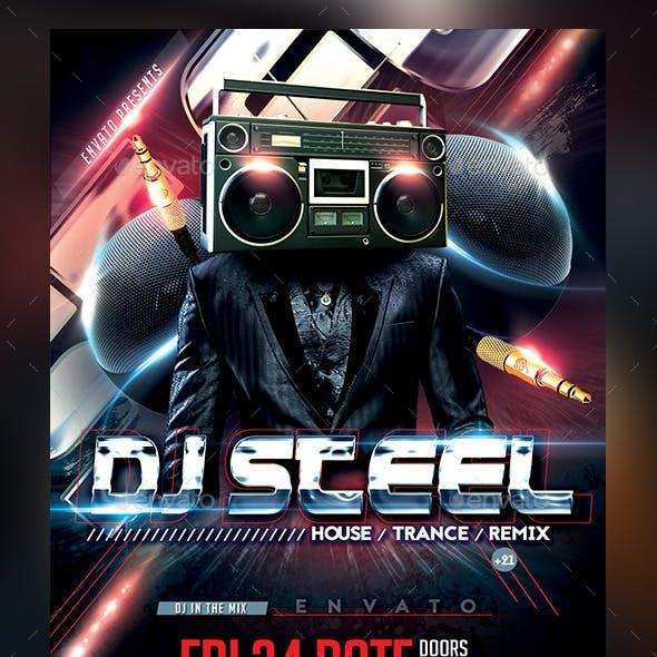 DJ Flyer Template