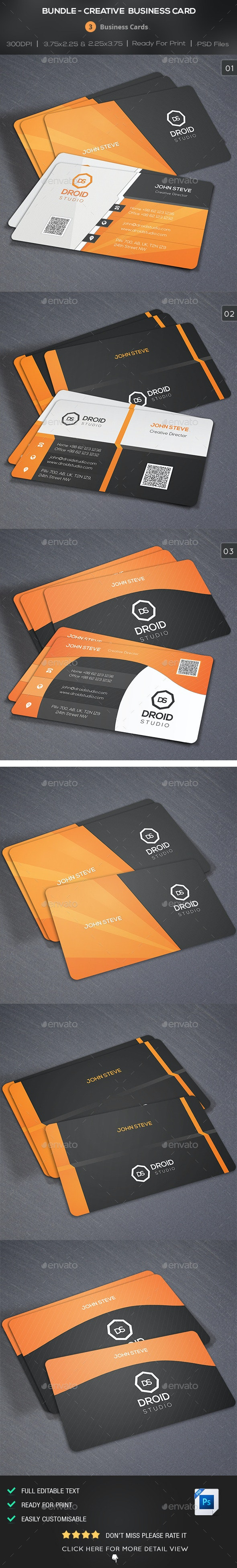 Bundle - Creative Business Card - Creative Business Cards
