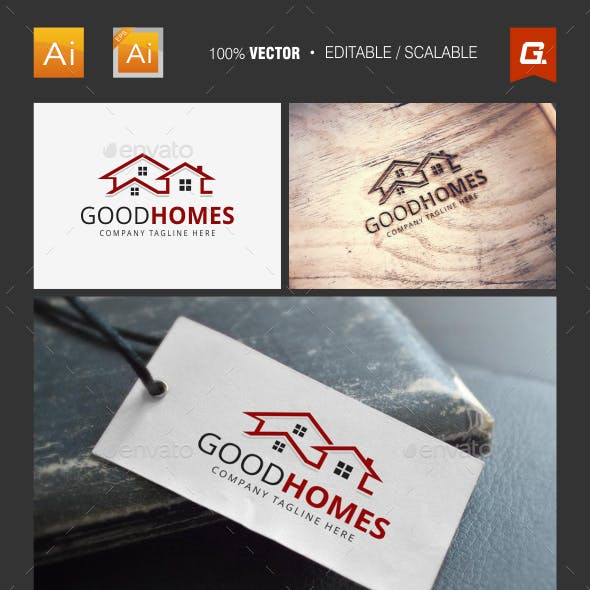 Real Estate Logo Template