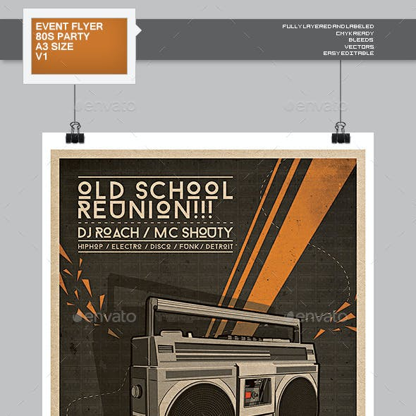 Flyer - Poster: Old School Reunion