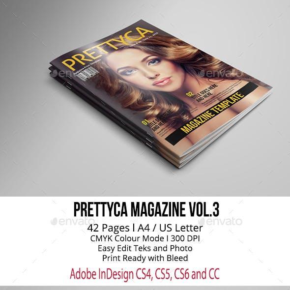 Prettyca Magazine Vol.3 A4/US Letter