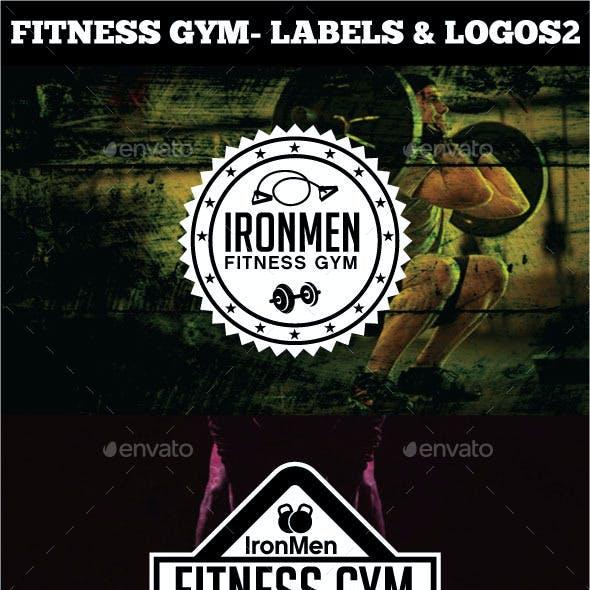 Fitness Gym - Labels & Badges