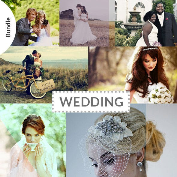 60 Wedding & Bridal Actions Bundle