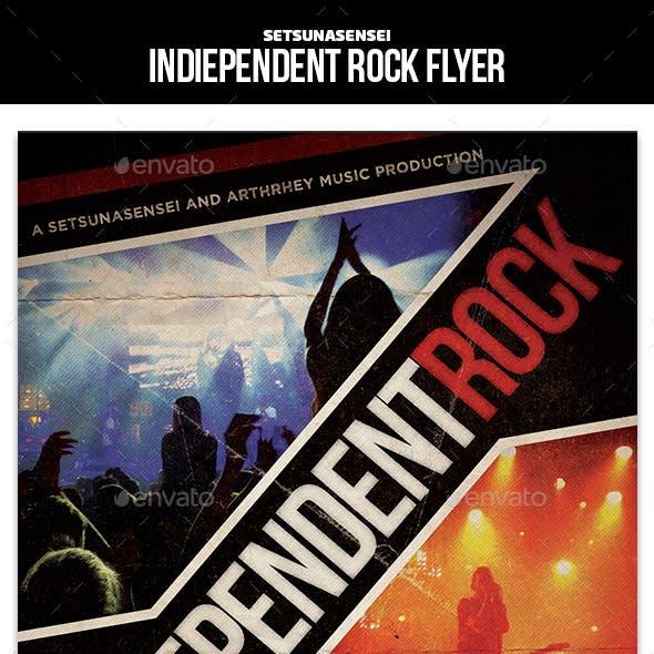 Indiependent Rock Flyer