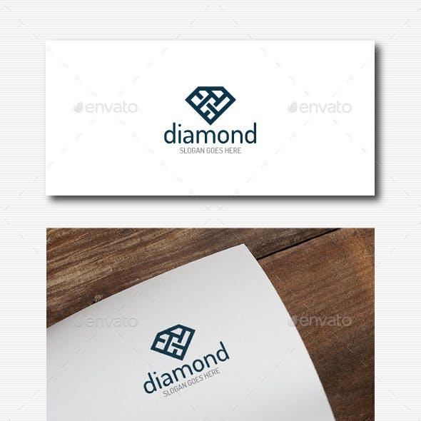 Stylish Diamond Logo