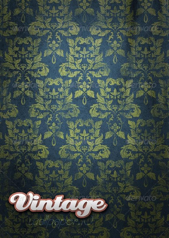 Vintage Wallpaper .09 - Patterns Backgrounds