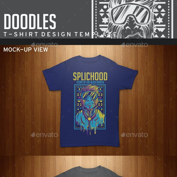 Splichood T-Shirt Template