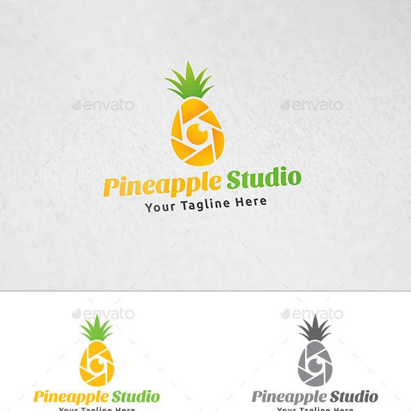Pineapple Studio - Logo Template