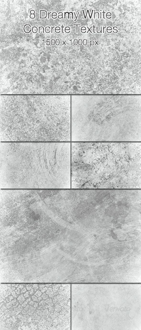 8 Dreamy White Concrete Textures - Concrete Textures