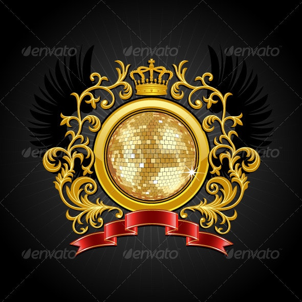 Disco ball - Decorative Symbols Decorative
