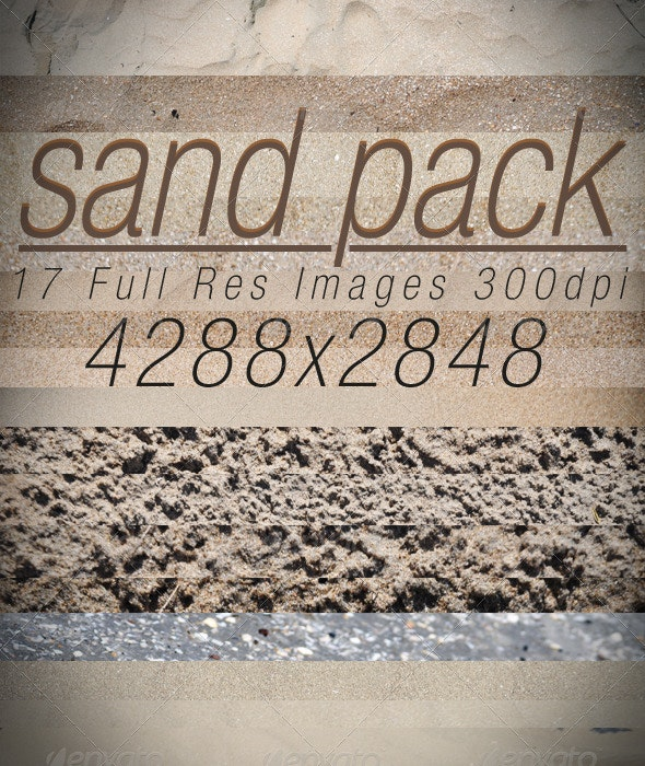 Sand Pack - Nature Textures
