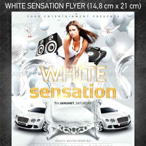 White Sensation Flyer
