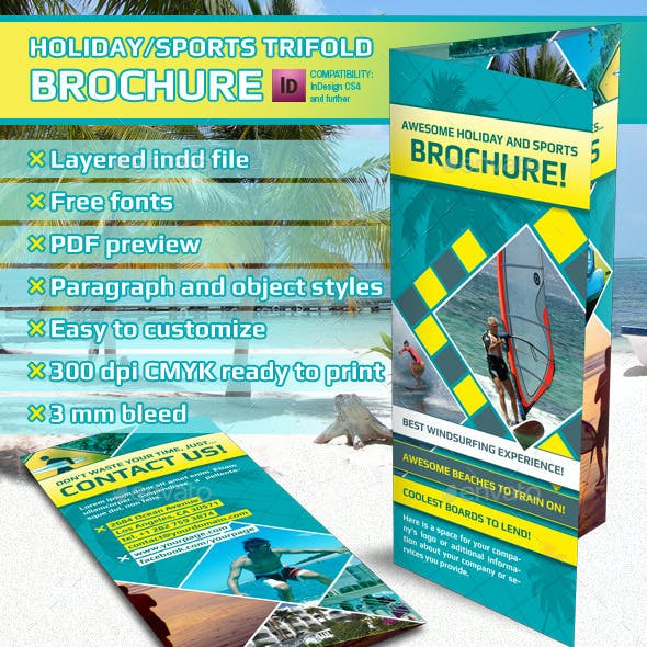 Holiday Trifold Brochure