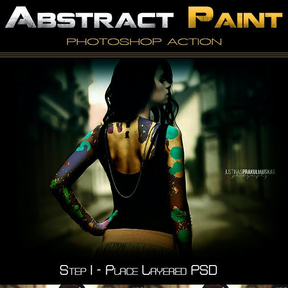 Abstract Paint - PS Action
