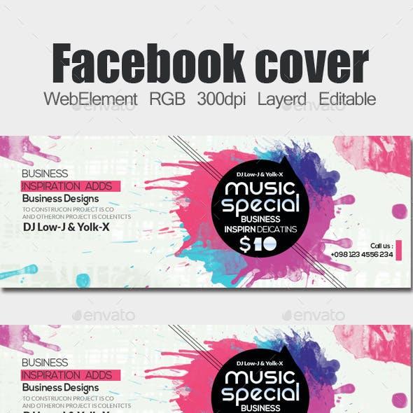 Electro & Futuristic Facebook Timeline