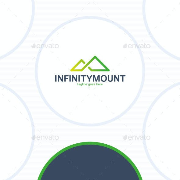 Infinity Mountain Logo - Triangle