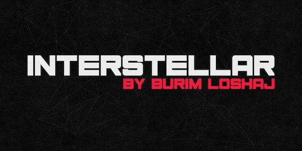 Interstellar - Sans-Serif Fonts