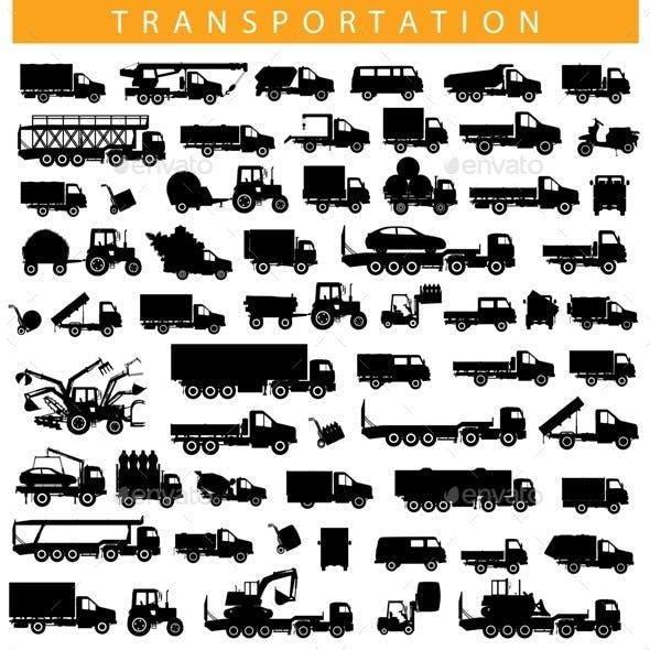 Vector Transportation Pictogram