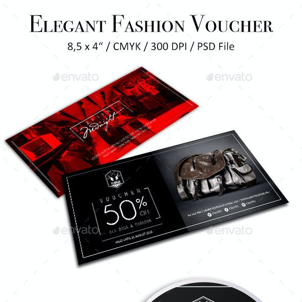 Elegant Fashion Voucher