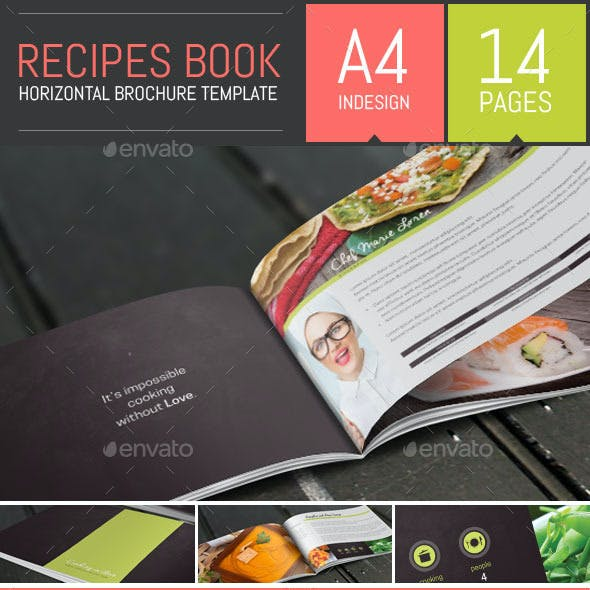 Recipes Book / Brochure Template
